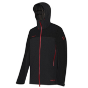Mammut Convey Mens Shell Ski Jacket, Graphite-Black, medium
