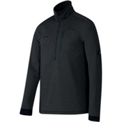 Mammut Runbold Half Zip Mens Mid Layer, Graphite, medium