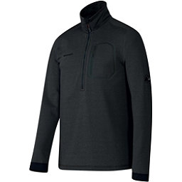 Mammut Runbold Half Zip Mens Mid Layer, Graphite, 256
