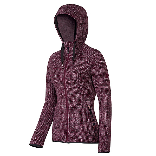 Mammut Kira Tour Hooded Womens Mid Layer, Barolo, 600