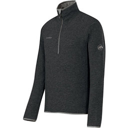 Mammut Phase Zip Pull Mens Mid Layer, Graphite, 256