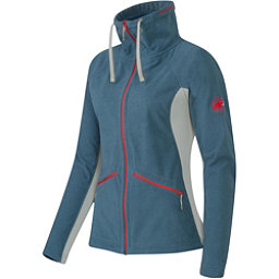 Mammut Niva Jacket Womens Mid Layer, Chill Melange-Icelandic, 256