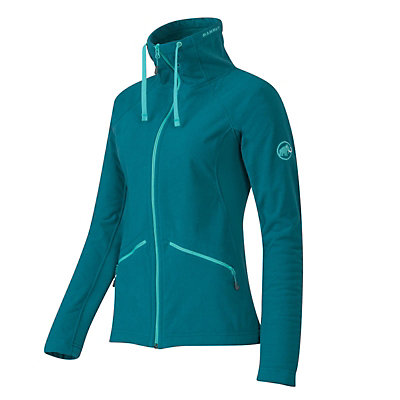 Mammut Niva Jacket Womens Mid Layer, Dark Pacific Melange, viewer