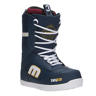 ThirtyTwo Lo-Cut Snowboard Boots, Navy, viewer