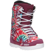ThirtyTwo Lashed Womens Snowboard Boots, Tie Dye, medium