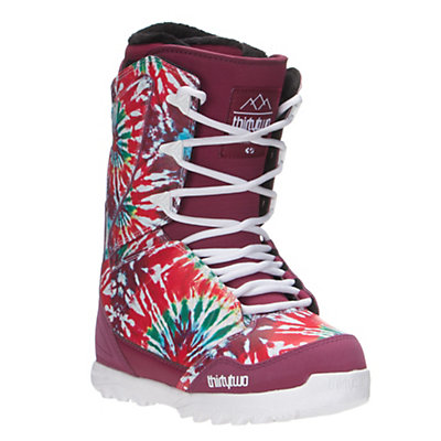ThirtyTwo Lashed Womens Snowboard Boots, Tie Dye, viewer