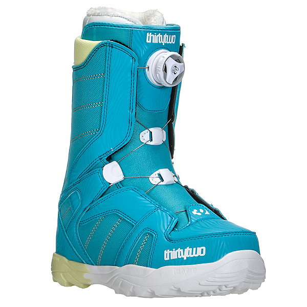 ThirtyTwo STW Boa Womens Snowboard Boots, Blue, 600