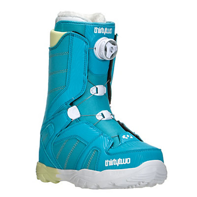 ThirtyTwo STW Boa Womens Snowboard Boots, Blue, viewer
