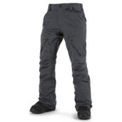 Volcom Articulated Mens Snowboard Pants, Charcoal, medium