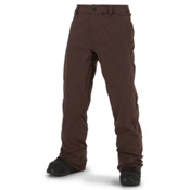 Volcom Freakin Snow Chino Mens Snowboard Pants, Burgundy, medium