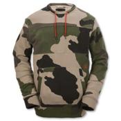 Volcom Prep Crew Hoodie, Camouflage, medium