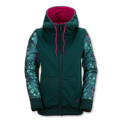 Volcom Lovage Fleece Womens Jacket, Midnight Green, medium