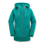 Volcom Bay Sweater Womens Hoodie, Glacier Blue, medium