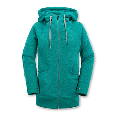 Volcom Bay Sweater Womens Hoodie, Glacier Blue, viewer