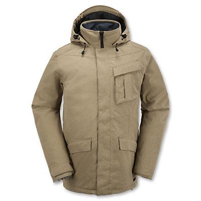 Volcom Mails Mens Insulated Snowboard Jacket, Burgundy, viewer