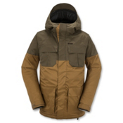 Volcom Alternate Mens Insulated Snowboard Jacket, Caramel, medium