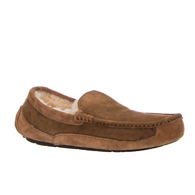 UGG Ascot Bomber Mens Slippers, Bomber Jacket Chestnut, viewer