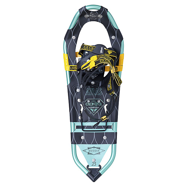 Atlas Elektra Access Snowshoes, Black-Blue, 600