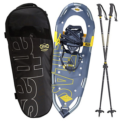 Atlas Rendezvous Kit Snowshoes, Gray-Yellow, viewer