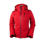 Obermeyer Cortina Womens Insulated Ski Jacket, True Red, medium
