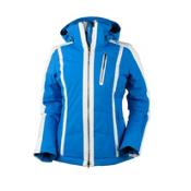 Obermeyer Cortina Womens Insulated Ski Jacket, Sonic Blue, medium