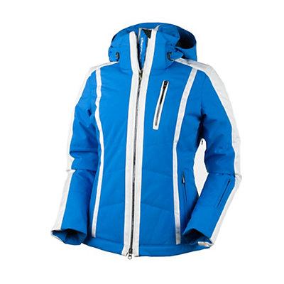 Obermeyer Cortina Womens Insulated Ski Jacket, White, viewer