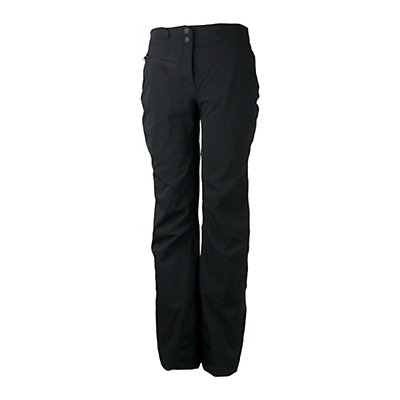 Obermeyer Warrior (Short) Womens Ski Pants, Black, viewer