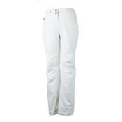 Obermeyer Warrior (Short) Womens Ski Pants, White, medium