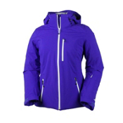 Obermeyer Cruz Womens Insulated Ski Jacket, Purple Reign, medium