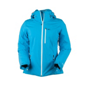 Obermeyer Cruz Womens Insulated Ski Jacket, Azure, medium