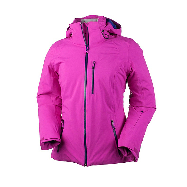 Obermeyer Cruz Womens Insulated Ski Jacket, Vivacious Pink, 600
