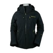 Obermeyer Vertigo Womens Insulated Ski Jacket, Black, medium