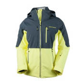 Obermeyer Vertigo Womens Insulated Ski Jacket, Daffodil, medium