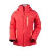 Obermeyer Vertigo Womens Insulated Ski Jacket, Tiger Lily, medium