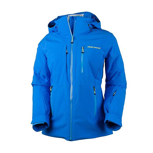 Obermeyer Vertigo Womens Insulated Ski Jacket, Sonic Blue, 600