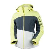 Obermeyer Luna Womens Insulated Ski Jacket, Daffodil, medium