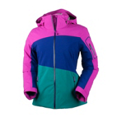 Obermeyer Luna Womens Insulated Ski Jacket, Vivacious Pink, medium