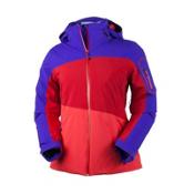Obermeyer Luna Womens Insulated Ski Jacket, Purple Reign, medium