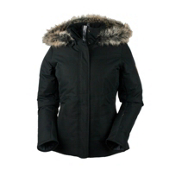 Obermeyer Tuscany Petite Womens Insulated Ski Jacket, Black, medium