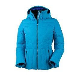 Obermeyer Cascade Down Womens Insulated Ski Jacket, Bluebird, 256