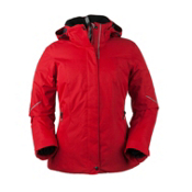 Obermeyer Victoria Womens Insulated Ski Jacket, Garnet, medium