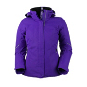 Obermeyer Victoria Womens Insulated Ski Jacket, Iris Purple, medium