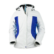 Obermeyer Victoria Womens Insulated Ski Jacket, Regal Blue, medium