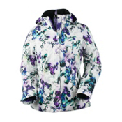 Obermeyer Victoria Womens Insulated Ski Jacket, Trance Print, medium