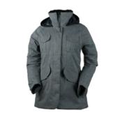 Obermeyer Suki Womens Jacket, Charcoal, medium