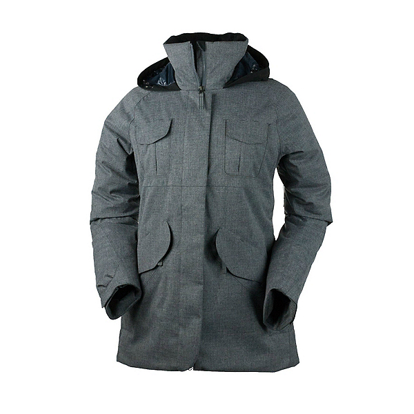 Obermeyer Suki Womens Jacket, Charcoal, 600