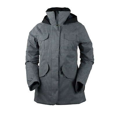 Obermeyer Suki Womens Jacket, Charcoal, viewer