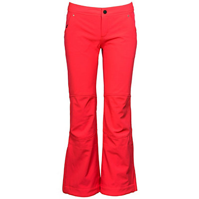 Obermeyer Angel Womens Ski Pants, Day Glow Pink, viewer