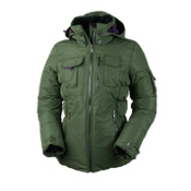 Obermeyer Leighton Luxe Petite Womens Insulated Ski Jacket, Stone Green, medium