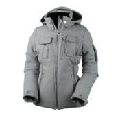 Obermeyer Leighton Luxe Petite Womens Insulated Ski Jacket, Mini Houndstooth, medium